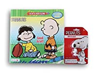 Peanutsスヌーピーアクティビティセット–color-and-read Book andスヌーピー3d消しゴム