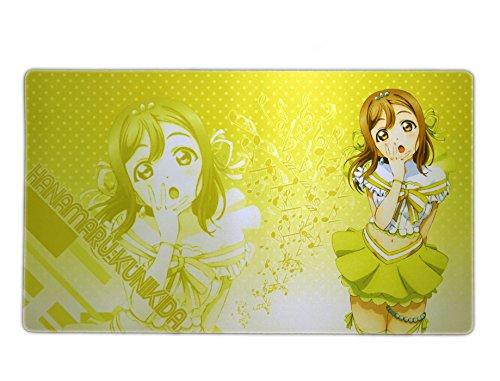 ラブライブ! サンシャイン 国木田花丸 LoveLive aqours カードゲーム プレイマット デスクマット プライズ