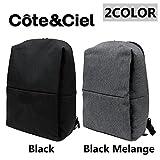 COTE&CIEL/コートエシエル/コートシエル Rhine New Flat Backpack/リュックサック/バックパック/デイバッグ/カバン/鞄 メンズ/レディース [並行輸入品]