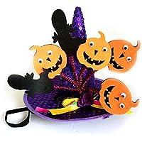 ハロウィーン ペット用品パンプキントランスフォーマーキャップパープル おもちゃ雑貨用品 お祭り 宴会 文化祭