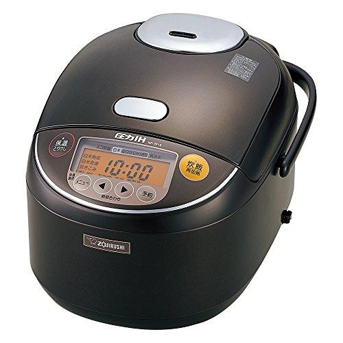 象印 圧力IH炊飯器 1升 ダークブラウ...
