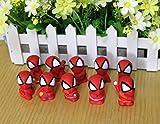 スパイダーマンFigure Toy ,スパイダーマンMini FigureおもちゃSpider Man PVCアクションフィギュア