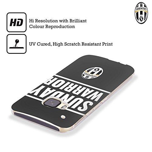 オフィシャルJuventus Football Club サンデー・ウォリアー・ブラック ライフスタイル ソフトジェルケース HTC Desire 650