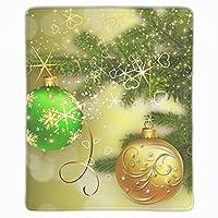 マウスパッド 防水 耐久性が良い 滑り止めゴム底 滑りやすい表面 マウスの精密度を上がる クリスマスデコレーション安物の宝石