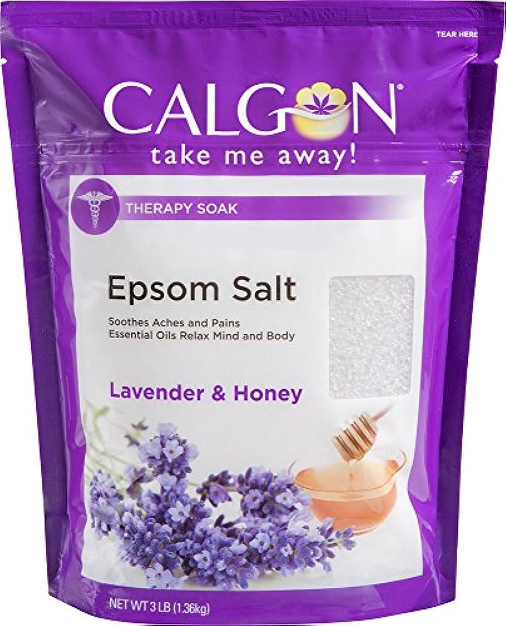 頼るインサート飛ぶCalgon リジュエプソム塩(ラベンダーと蜂蜜、48オンス)