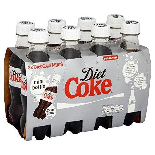 Diet Coke (8x250ml) ダイエットコーク( 8X250Ml )