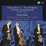 Schnittke: Concerto For Three / String Trio / Minuet / Canon