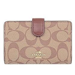 [コーチ] COACH 財布 (二つ折り財布) F23553 カーキ×サドル2 シグネチャー 二つ折り財布 レディース [アウトレット品] [並行輸入品]