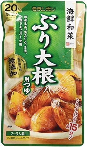 モランボン 海鮮和菜 ぶり大根用つゆ 300g×10袋