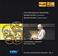 Mendelssohn: Symphony No. 3, Scottish / Symphony No. 5, Reformation (2006-02-21)