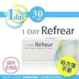 1-DAY Refrear  ワンデー リフレア  30枚入り クリア コンタクト (-10.00)