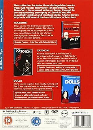 北野武監督 コレクション(3作品) DVD-BOX (TAKESHIS' / 座頭市 / Dolls) [DVD] [Import]