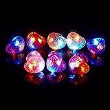 ( iSmile ) 发光戒指玩具闪闪发光圣诞节万圣节派对很受欢迎