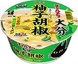 明星 チャルメラどんぶり 大分柚子胡椒 鶏白湯ラーメン 81g×12個