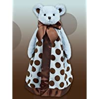 1 X Posh Blue Bear Dots Snuggler 15 by Bearington by Bearington Bears [並行輸入品]