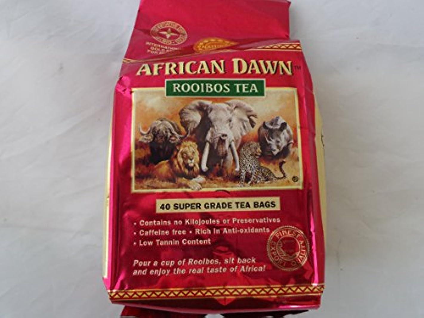 球体害前書きフレーバーライフ Flavor Life ルイボスティー アフリカンドーン ナチュラル 1袋40包入り 01201