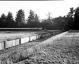 歴史的な絵文字レイクウィットニー浄水植物、ろ過植物、エッジヒルロードとウィットニーアベニュー、ハンデン、ニューヘブン郡、CT 4 2..