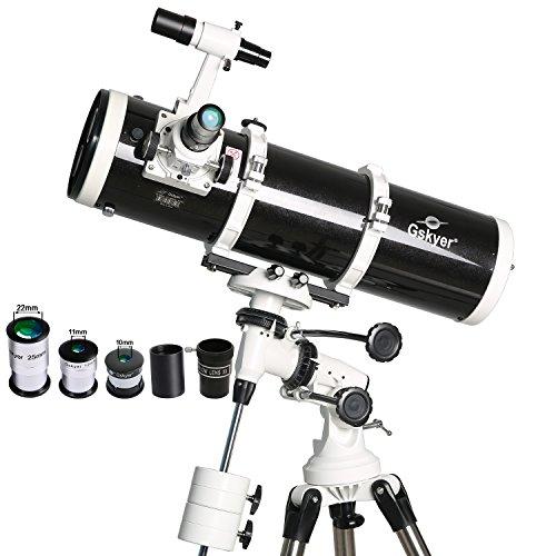 Gskyer 天体望遠鏡 130EQ 双タービン付き赤道儀  視野1.5度 口径130mm