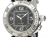 [カルティエ]Cartier【CARTIER】カルティエ パシャ シータイマー ステンレススチール ラバー 自動巻き メンズ 時計W31077U2(BF302546)[中古]