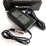 Antoble 24V 2A XLR電動スクーターバッテリー充電器for go-go Elite Traveller Plus HD米国、eZip Mountain Trailz、Jazzy電源椅子