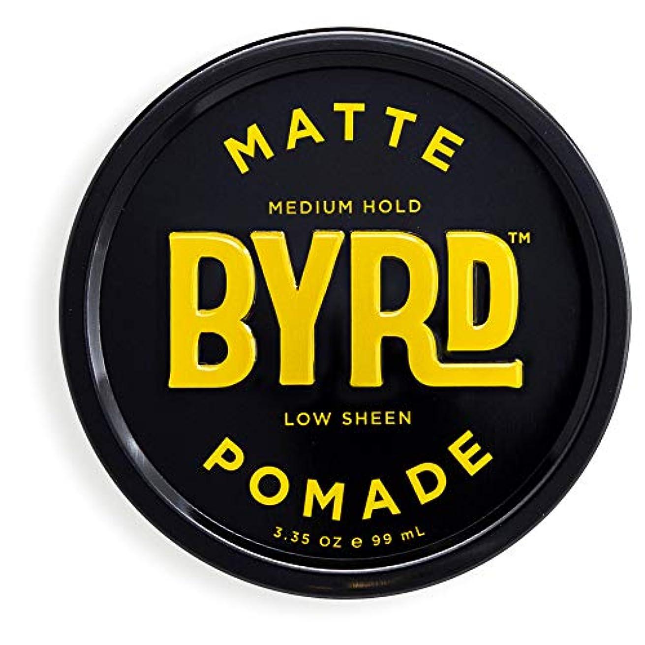 可決破壊的引き付けるBYRD(バード)  マットポマード 70g