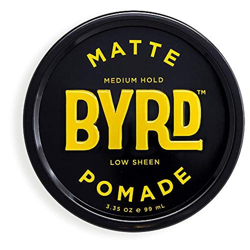 明らかにする縞模様の自伝BYRD(バード)  マットポマード 70g