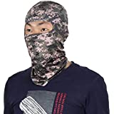 uxcell Unisex Polyester Full Coverage Face Mask Outdoor Activities Cycling Biking Neck Protector Hood Cap Balaclava