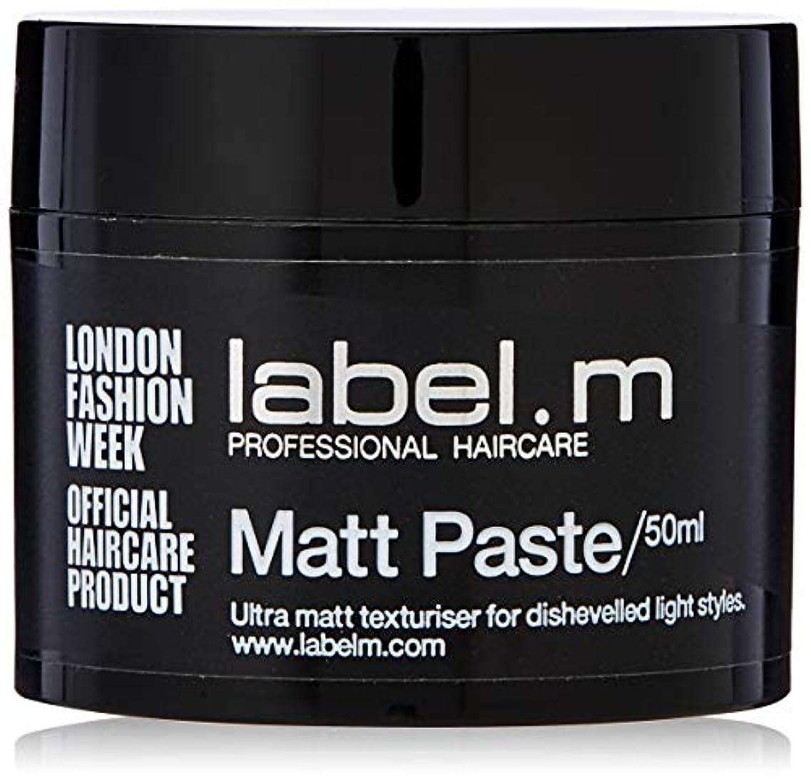 消費者大惨事捕虜Label.m Matt Paste 50ml