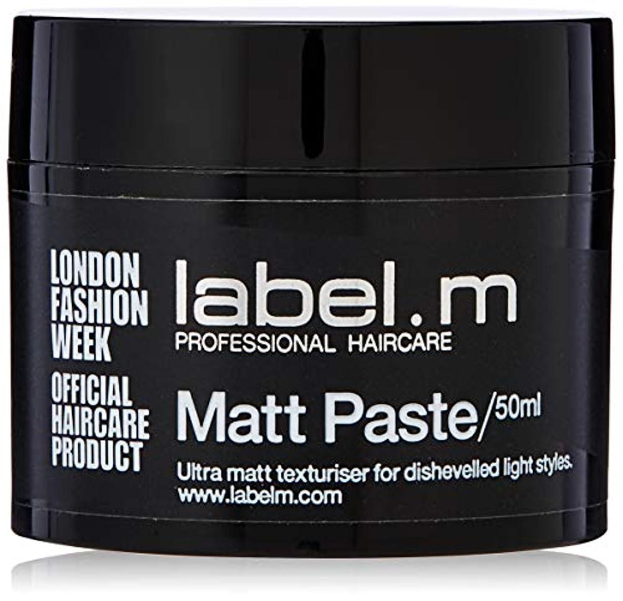 悲鳴楕円形太いLabel.m Matt Paste 50ml