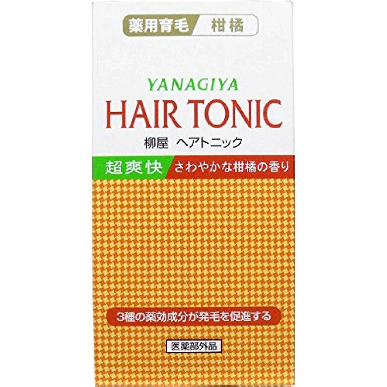 【柳屋本店】ヘアトニック 柑橘 240ml ×3個セット