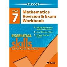 Excel Essential Skills: Mathematics Revision & Exam Workbook Year 7