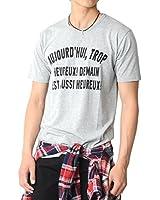 (スペイド) SPADE Tシャツ メンズ 半袖 カジュアル Uネック プリント フォト ロゴ ティーシャツ 【e194】