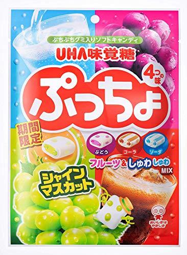 味覚糖 ぷっちょ4種アソート