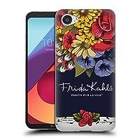 Official Frida Kahlo ブルーム レッド・フローラル ソフトジェルケース LG Q6 / Q6 Plus