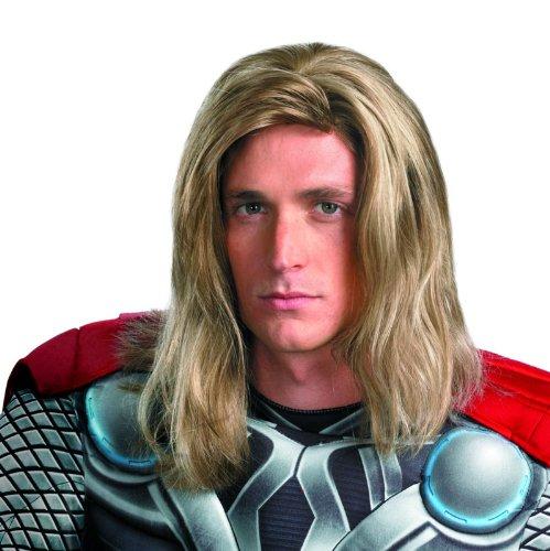 The Avengers Thor Wig (Adult)『マイティ・ソー/ダーク・ワールド』 アベンジャーズ ソー ウィッグ(大人用)♪ハロウィン♪サイズ:One-Size