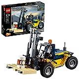 LEGO Technic Heavy Duty Forklift Building Kit (592 Piece), Multicolor