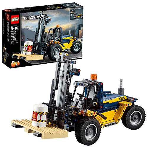 LEGO Technic Heavy Duty Forklift Building Kit 592 Piece