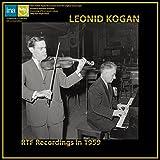 R.シュトラウス : ヴァイオリン・ソナタ | ショスタコーヴィチ : 24の前奏曲 | プロコフィエフ : ロメオとジュリエットより | ラヴェル : ツィガーヌ (RTF Recordings in 1959 / Leonid Kogan) [LP] [輸入盤] [Limited Edition] [Analog]