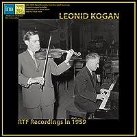 R.シュトラウス : ヴァイオリン・ソナタ   ショスタコーヴィチ : 24の前奏曲   プロコフィエフ : ロメオとジュリエットより   ラヴェル : ツィガーヌ (RTF Recordings in 1959 / Leonid Kogan) [LP] [輸入盤] [Limited Edition] [Analog]