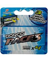 DORCO ドルコ PACE3 男性用替刃式 カミソリ3枚刃 替え刃