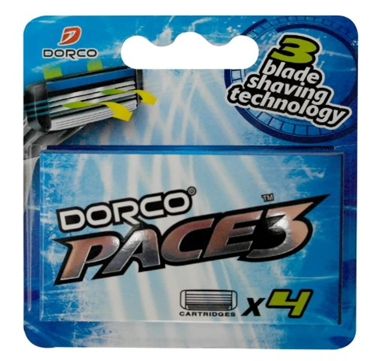 息子長椅子喉が渇いたDORCO ドルコ PACE3 男性用替刃式 カミソリ3枚刃 替え刃