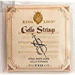 チェロ弦 キングライオン King Lion 4弦セット(C, G, D, A) 1/2 - 4/4サイズまであり (3/4 - 4/4)