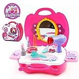 おもちゃ 子供のための玩具 メイクおもちゃ スモールレディ メークアップ お化粧 化粧道具 知育 コスメティックバッグ 女の子プレイセット ギフト 21点セット