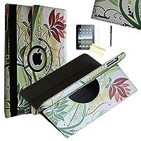 iPad Mini 4ケース、JYtrend ( R )回転スタンドスマートケースカバー磁気自動ウェイクアップ/スリープiPad mini 44th a1538a1550mk6K2ll / A mk6l2ll / A mk872ll / A mk882ll / A mk9p2ll / A mk9q2ll / A Jyicm4170405
