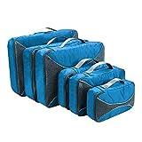 G4Free スーツケース アレンジケース 6点セット オーガナイザー トラベル ポーチ 整理整頓 インナーバッグ 出張 旅行 パッキングキューブ 4色