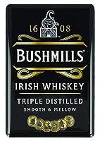 Bushmillsアイリッシュ・ウイスキー冷蔵庫マグネット(SG)
