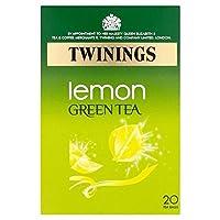 トワイニングレモンパックあたりの緑茶20 - Twinings Lemon Green Tea 20 per pack [並行輸入品]