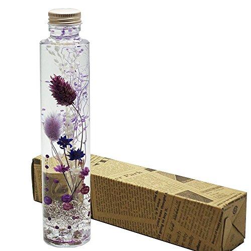 ハーバリウム Healing Purple( ヒーリング パープル ) 1本箱入 プレゼント などに最適です