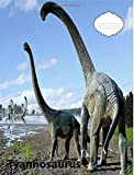 Tyrannosaurus Dinosaur College Lined Paper Composition Book: For Those That Like the Mighty Dinosaurs, for Use of Elementary and Middle School Students, for Homeschooling, Teachers and School Offices, Perfect for Keeping Notes and for Doing Lesson Plans
