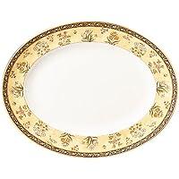 "(35cm, INDIA OVAL PLATTER 13.75"") - Wedgwood India 35cm Oval Platter"